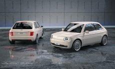 Estudio transforma Fiat 126 em elétrico moderno