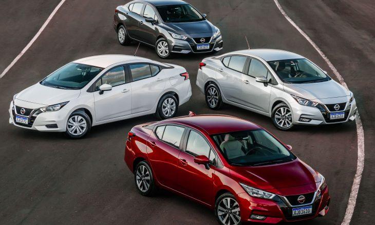Nissan abre pré-venda do novo Versa no Brasil