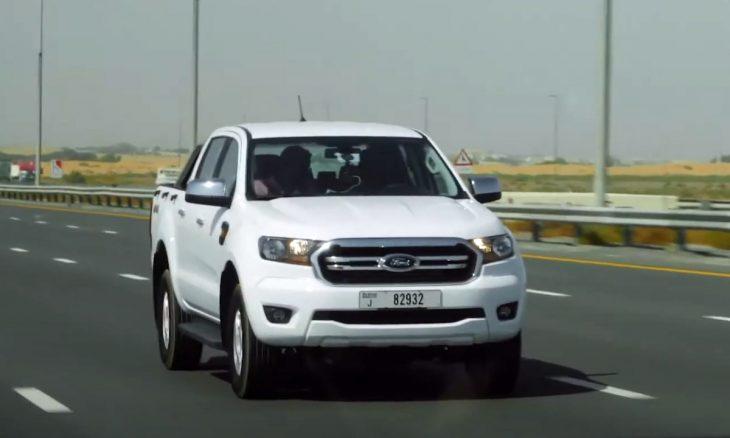 Ford Ranger roda mais de 1.250 km com um tanque em Dubai