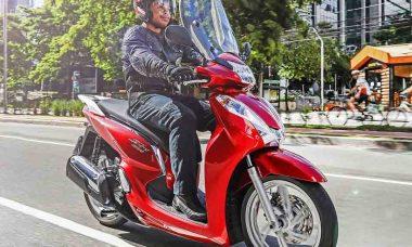 Honda SH 300i fica até R$ 3.600 mais barata e um ano de seguro gratuito. Foto: Divulgação