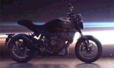 Honda lança teaser da nova naked Honda CB1000R que será lançada em novembro. Foto: reprodução Youtube
