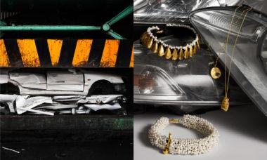 Hyundai lança coleção de jóias com peças de carro recicladas