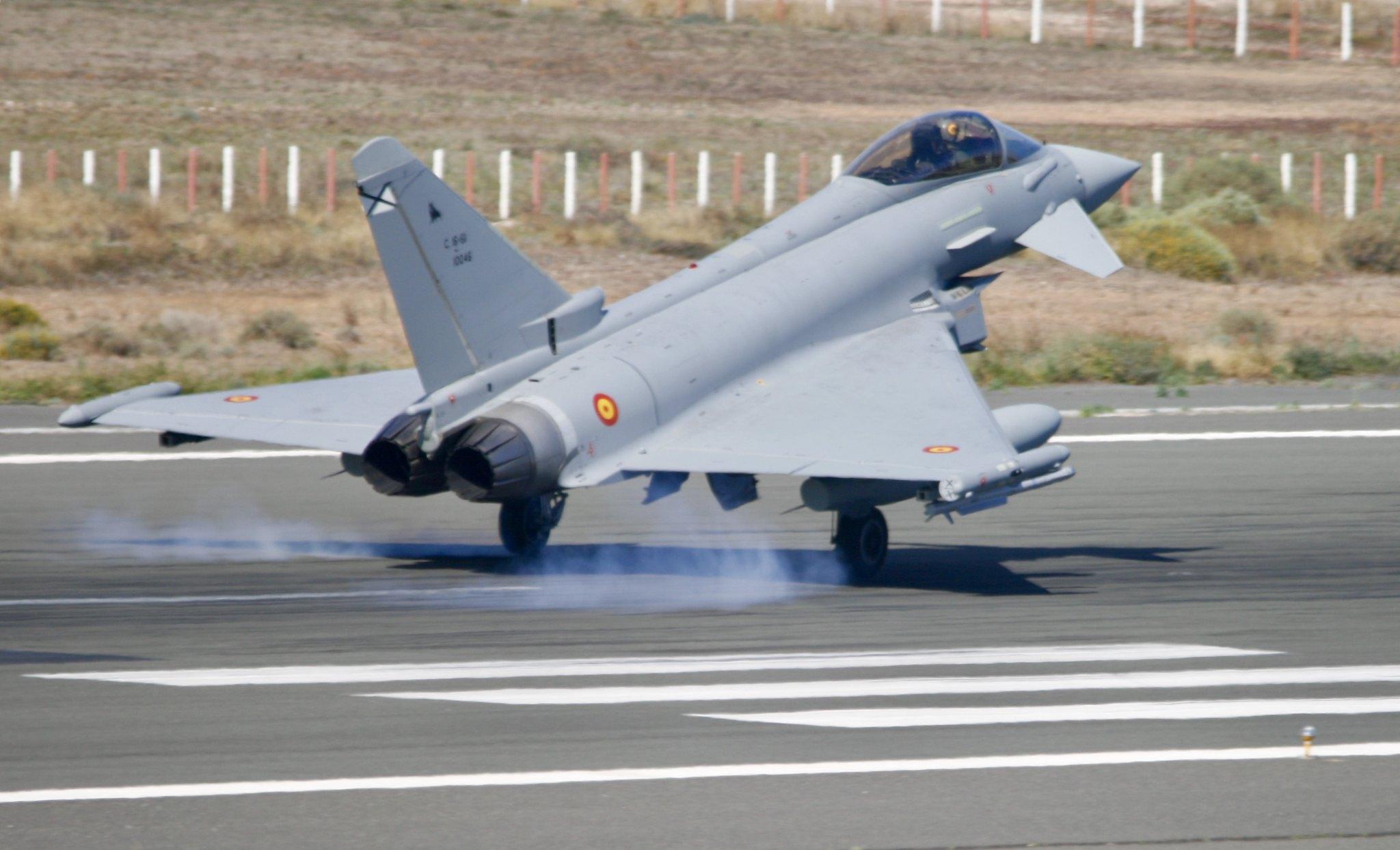 Eurofighter faz proposta para substituir os F-18 da Espanha