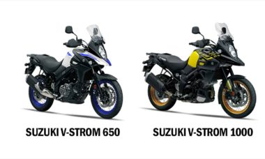 Comparativo Suzuki V-strom 650 x Suzuki V-strom 1000. Foto: Divulgação