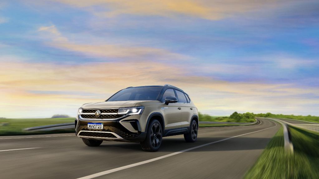 Volkswagen divulga novas imagens do SUV Taos