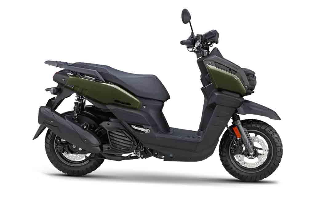 Nova Yamaha BW's 125. Foto: Divulgação