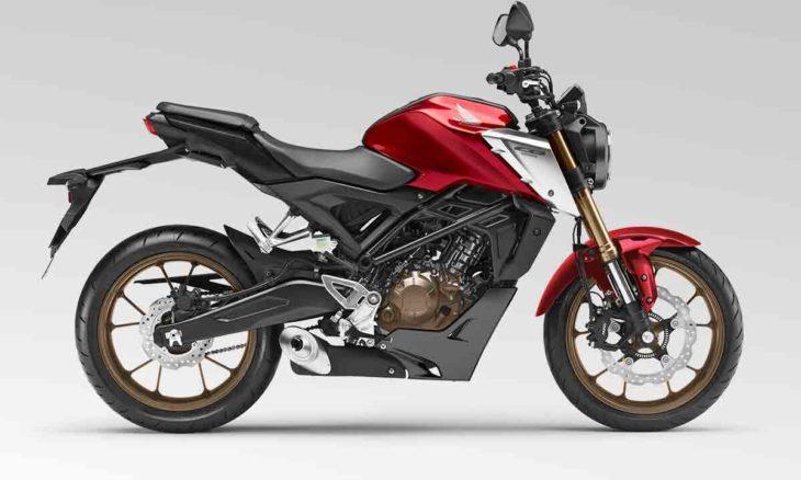 Honda CB125R 2021. Foto: Divulgação