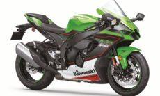 Kawasaki revela a nova Ninja ZX-10R 2021