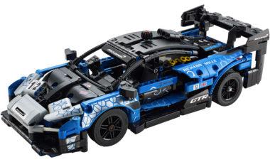 McLaren Senna GTR vira kit da linha Lego Technic