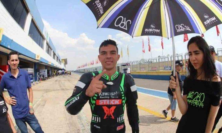 Matheus Barbosa, piloto do Superbike morre em etapa de Interlagos. Foto: Divulgação Superbike Brasil