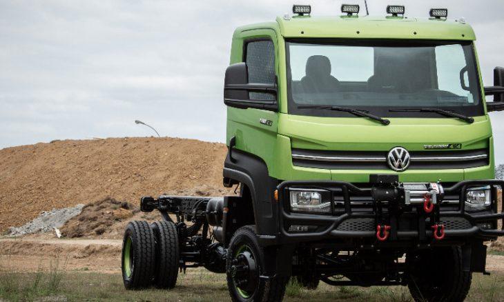 Volkswagen lança o Delivery 11.180 4x4, um caminhão para uso off-road