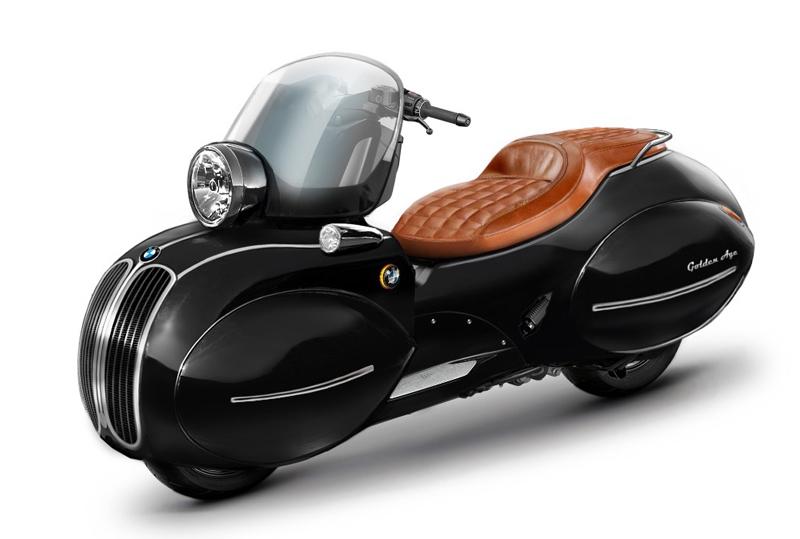 Empresa americana transforma scooter BMW em obra de arte