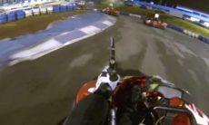 Lucas di Grassi mostra nova 'modalidade' misturando kart e paintball; veja o vídeo. Foto: Reprodução Youtube