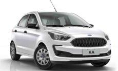 Black Friday Ford: Ka Hatch 1.0 S pode ser adquirido com entrada de R$9.900 e 60 parcelas de R$915. Foto: Divulgação
