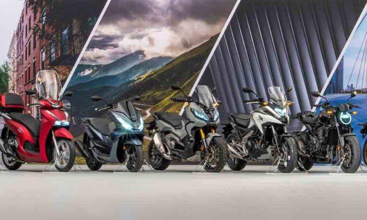 Vídeo de lançamento de sete novidades da Honda 2021. Foto: Divulgação