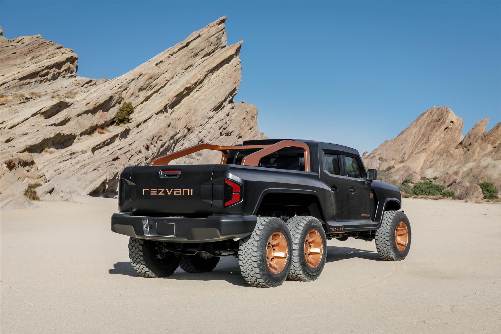 Conheça o Rezvani Hercules 6x6, um monstro de mais de 1.300 cv