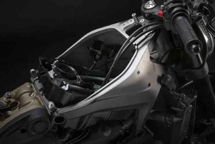 Ducati Monster 2021. Foto: Divulgação