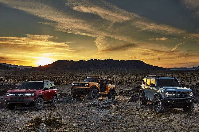 Família Ford Bronco