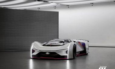 Ford revela versão real do carro virtual Team Fordzilla P1