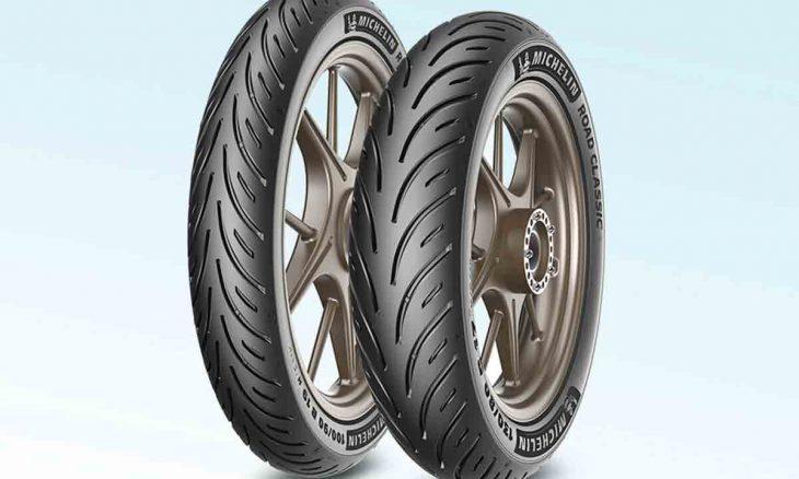 Michelin Road Classic: pneus para motos clássicas e neo-retro mas com as tecnologias modernas. Foto: Divulgação