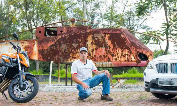 Falando de motos, influenciador e youtuber Rodrigo Feitosa se torna uma referência nacional. Foto: Divulgação