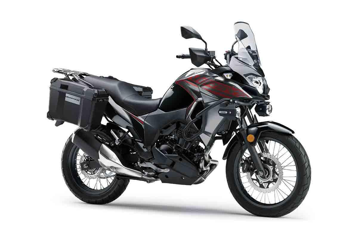 Kawasaki Versys X-300 2021 já está nas lojas a partir de R$ 28.490. Foto: Divulgação