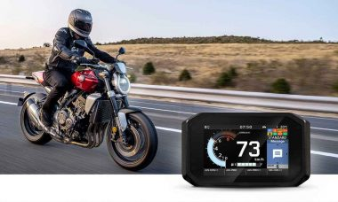 Honda apresenta o RoadSync, novo sistema de conectividade para motos . Foto: Divulgação