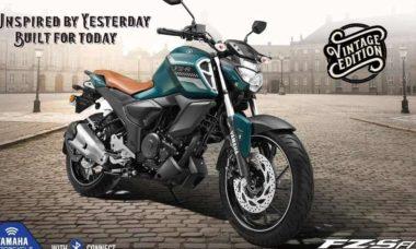 Nova Yamaha Fazer ganha uma versão Vintage. Foto: Reprodução
