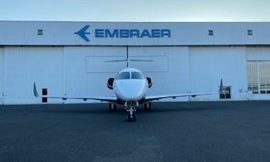 Embraer converte Legacy 450 em Praetor 500 na Europa