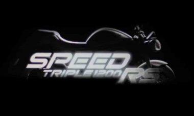 Triumph divulga teaser da nova Speed Triple 1200 RS. Foto: reprodução Youtube