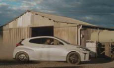 Comercial da Toyota GR Yaris é proibido na Austrália. Foto: Reprodução Youtube
