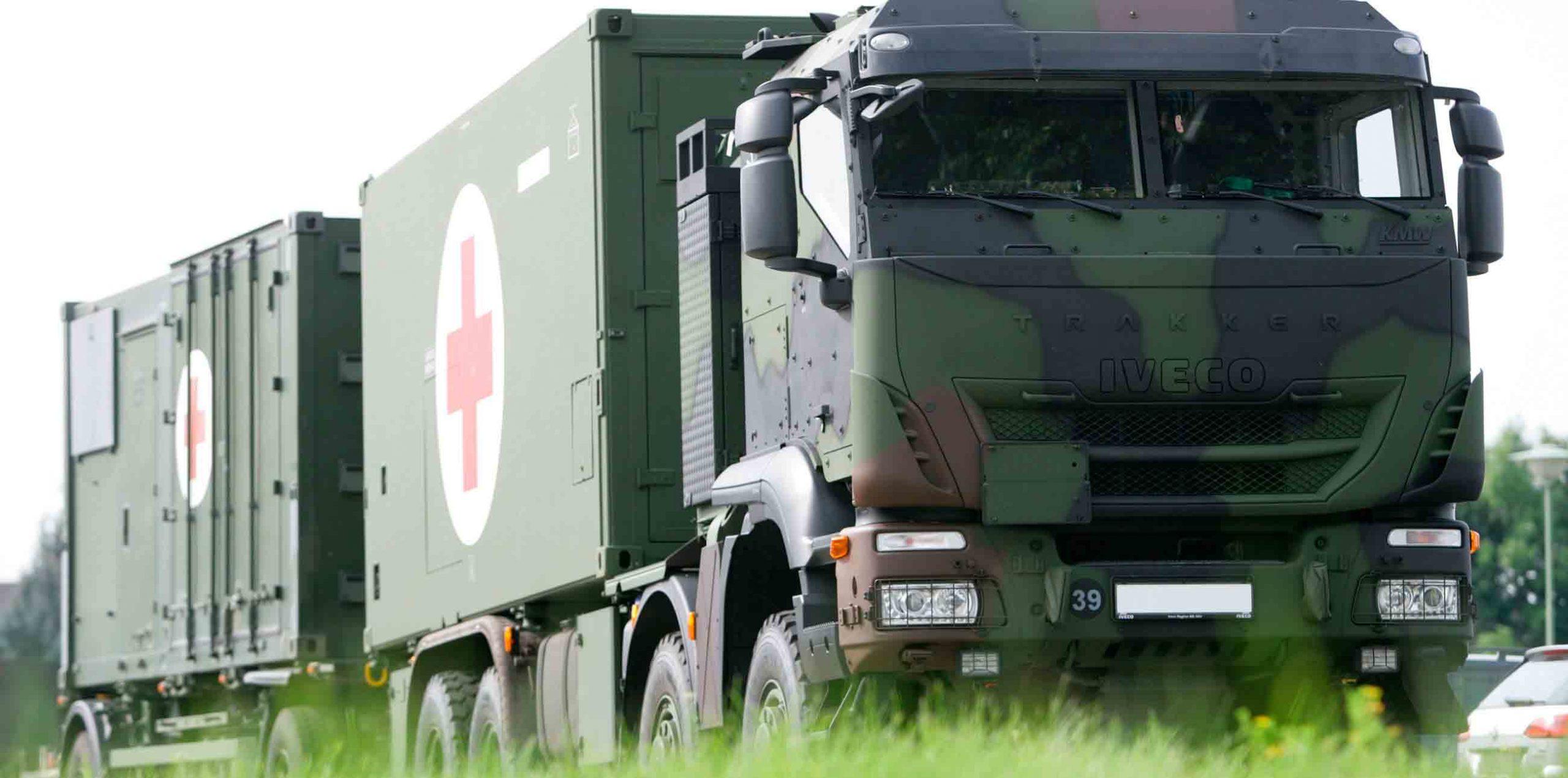 Iveco fornecerá 1.048 caminhões blindados 8×8 ao Exército Alemão. Foto: Divulgação