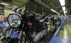 Produção de motocicletas cai 13,2% em 2020