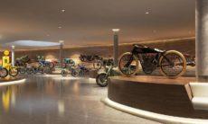 Museu com 230 motos históricas pega fogo na Áustria