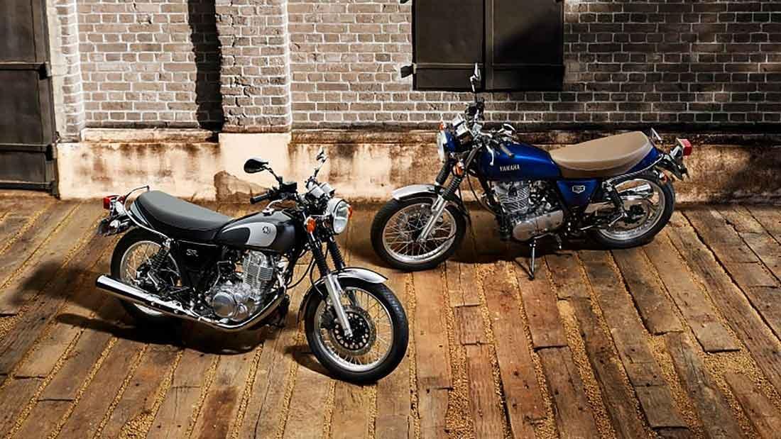 Yamaha se despede da SR 400 após 43 anos de produção. Foto: Divulgação