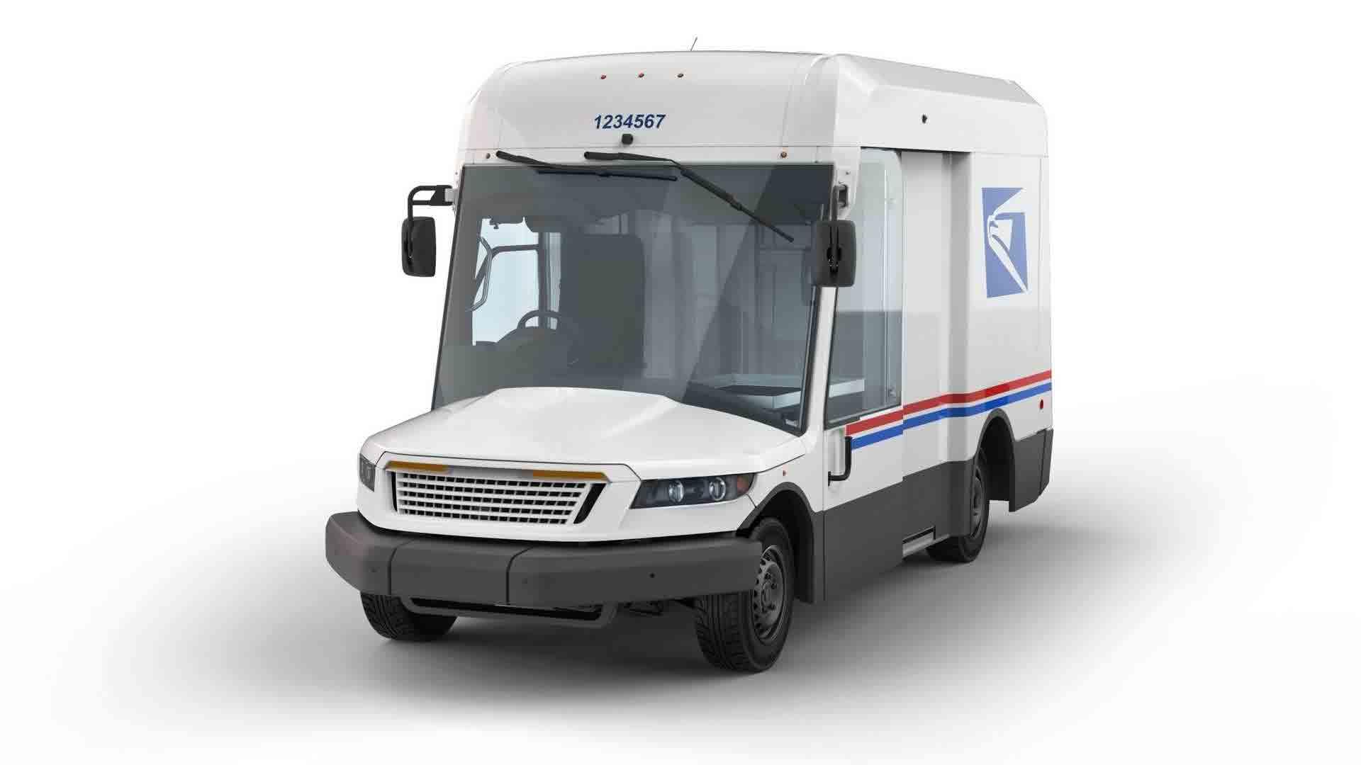 O novo caminhão do correios  parece ter saído de um desenho animado. Foto: Divulgação