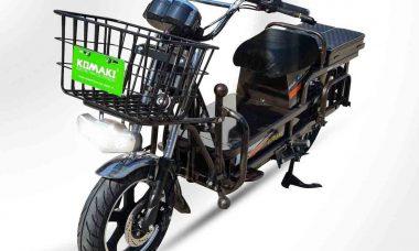 Komaki XGT CAT 2.0, um scooter elétrico que carrega até 350kg de carga. Foto: Divulgação