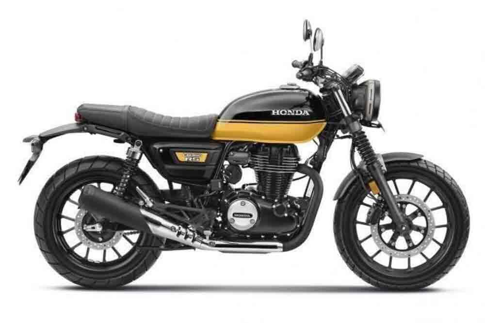 Nova Honda CB350 RS é presentada na Índia. Foto: Divulgação