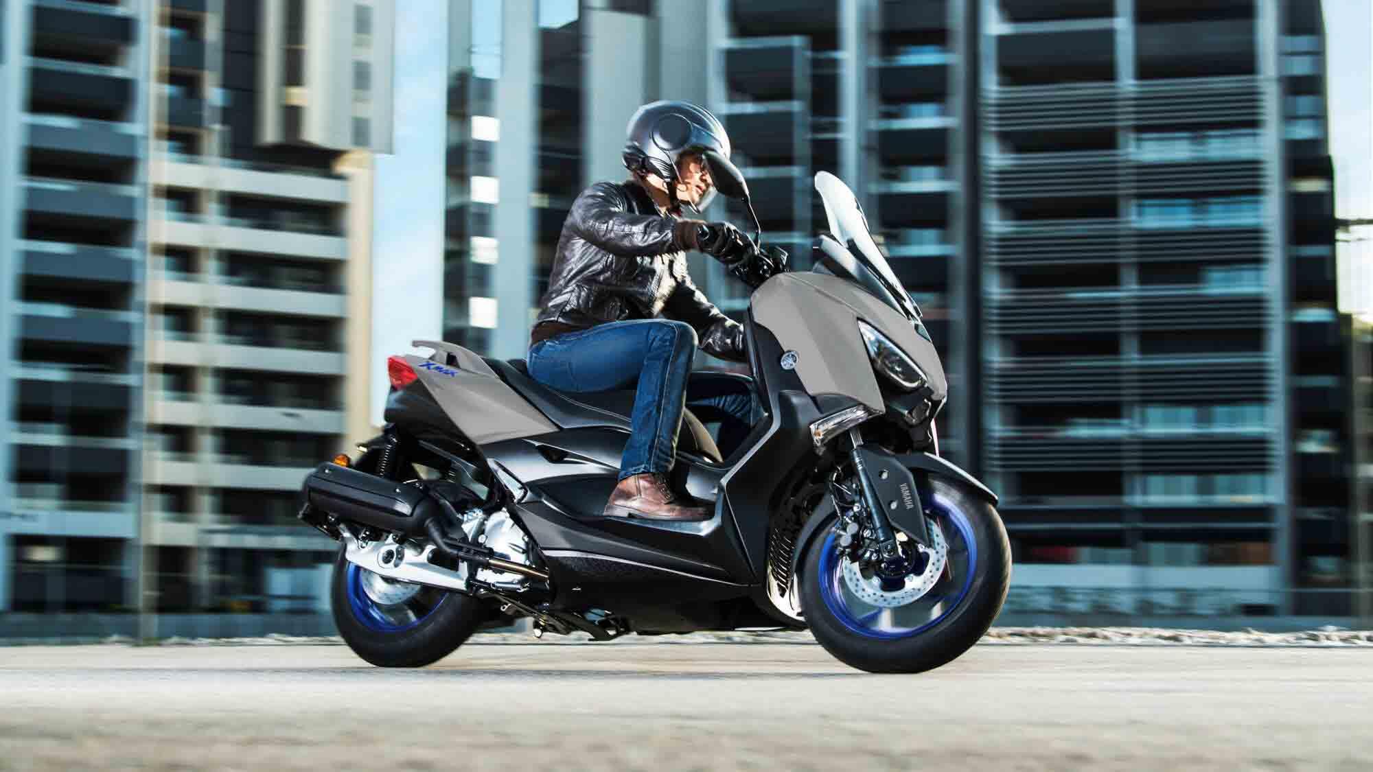 Yamaha X-Max 125 foi o modelo mais vendido em 2020 na França. Foto: Divulgação
