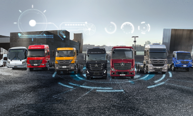 Mercedes-Benz mantém liderança de caminhões e ônibus no Brasil