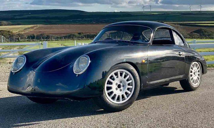 Empresa britânica revela carro elétrico com cara de Porsche dos anos 1950. Foto: Divulgação