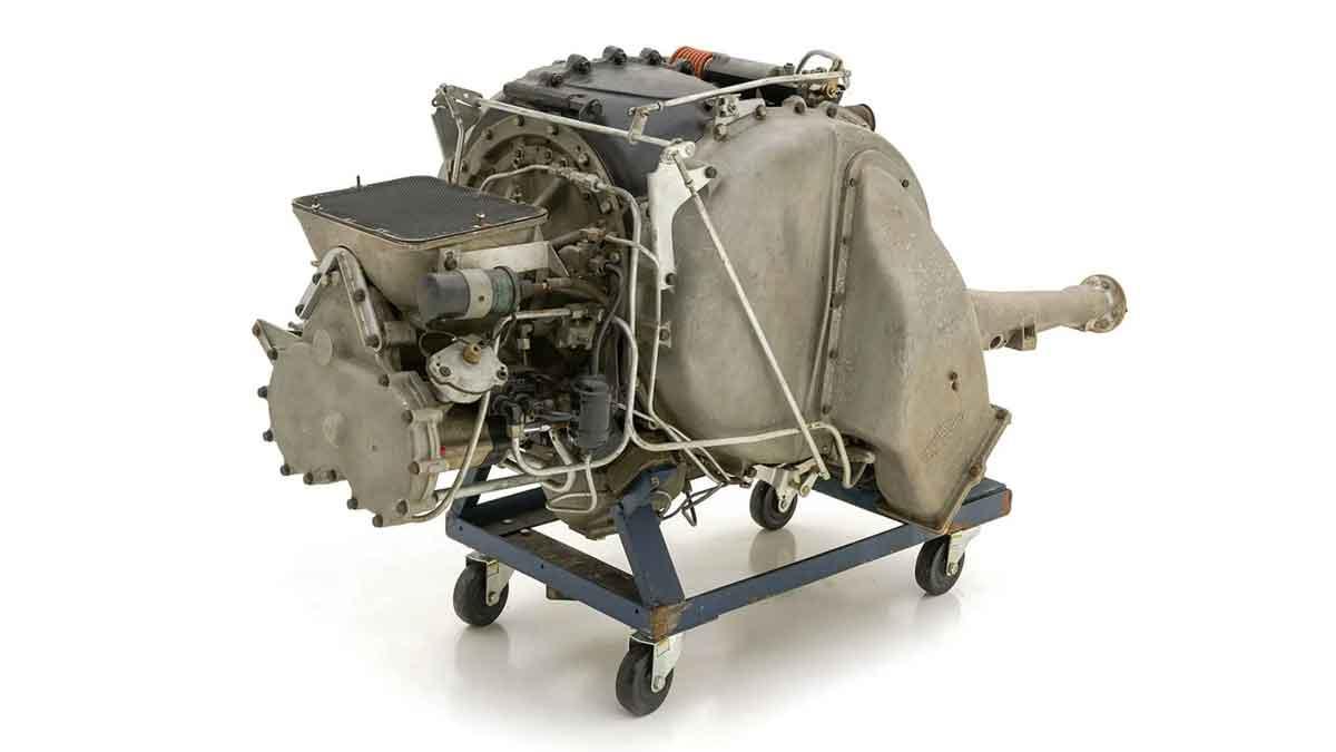Motor de Turbina da Chrysler para uso em carros é vendido por mais de R$ 550 mil. Foto: Divulgação