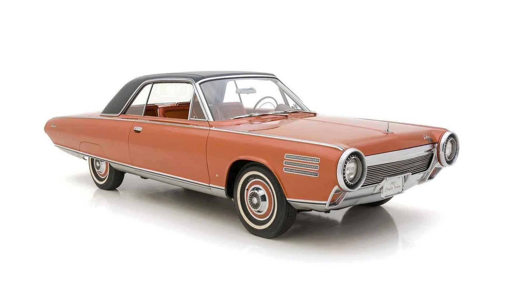 Chrysler Turbine Car, um dos poucos carros a ser contruído usando um motor de turbina