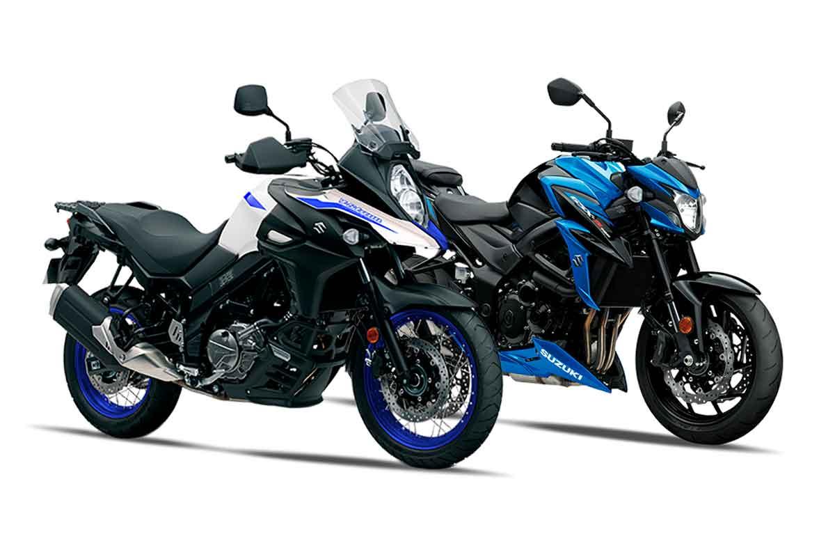 Suzuki faz promoção para V-Strom 650 e GSX-S 750 no mês de abril. Foto: Divulgação
