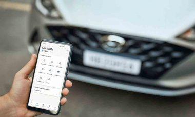 Hyundai lança serviço de conectividade Bluelink no Brasil. Foto: Divulgação