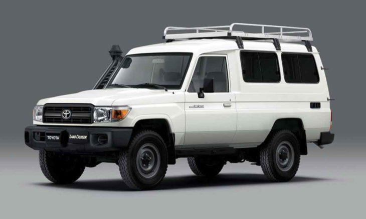 Covid-19: Toyota cria 4×4 adaptado para transporte de vacinas. Foto: Divulgação