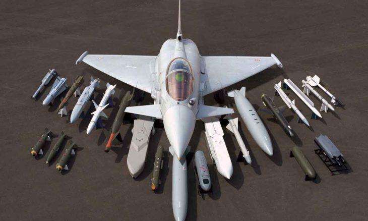 Finlândia estuda trocar caças F-18 por Eurofighter Typhoon. Foto: Divulgação