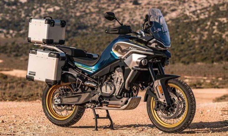 CF Moto 800MT. Foto: Divulgação