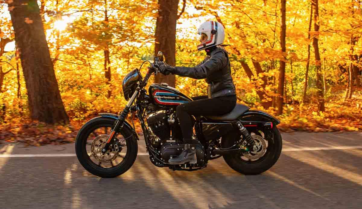 A Harley faz recall de 32.000 modelos Sportster de 2019 a 2021. Foto: Divulgação