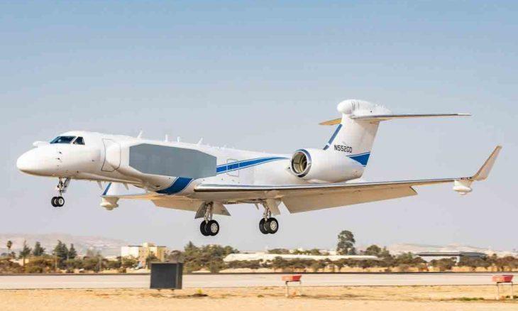 Israel vai transformar mais um jato executivo Gulfstream G550 em avião espião. Foto: Divulgação